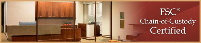 Environment Architectural Millwork